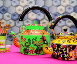How to Decorate Old Kettle