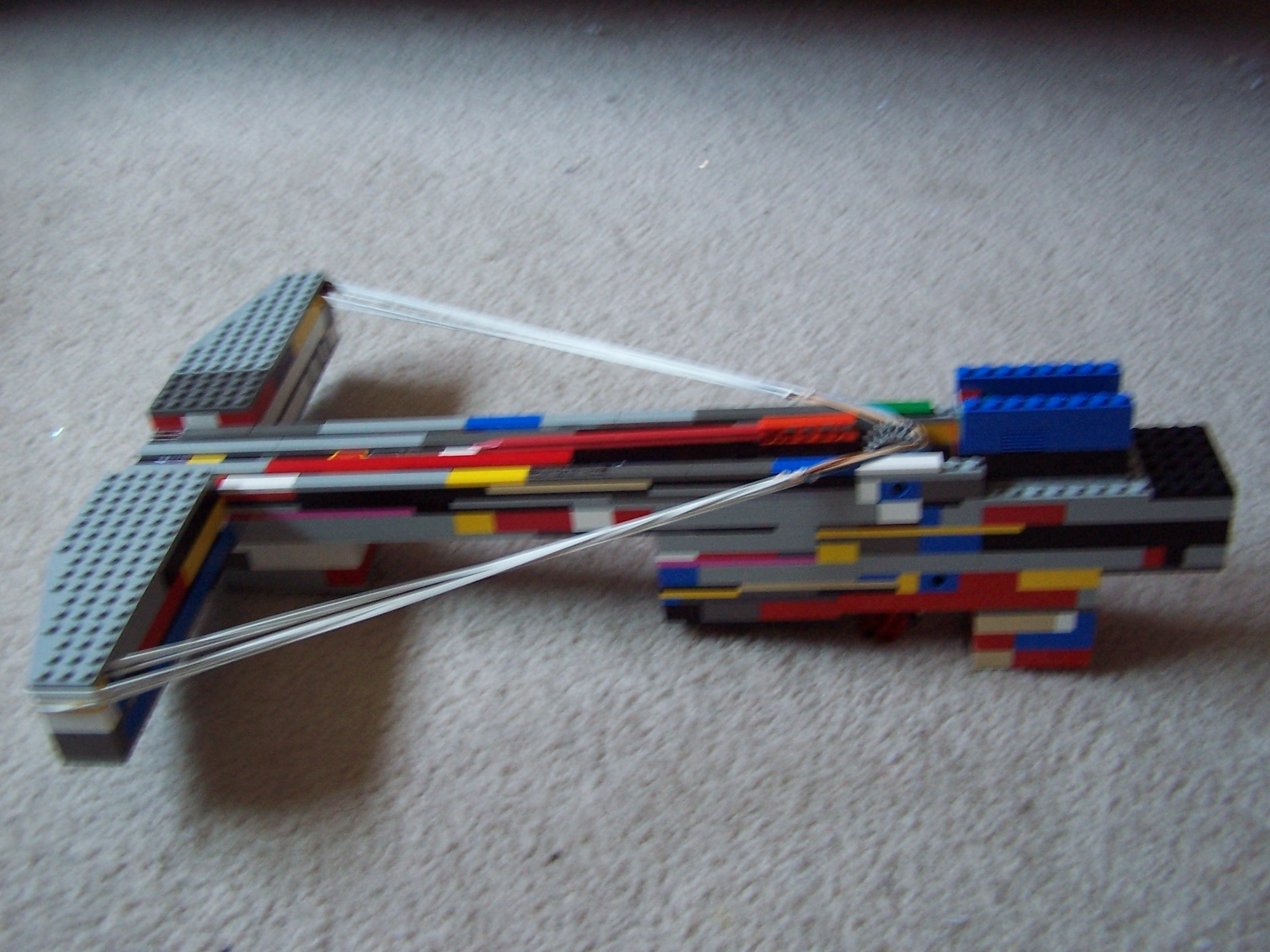Picture of The C3.3 Lethal Armor-Piercing Lego Crossbow