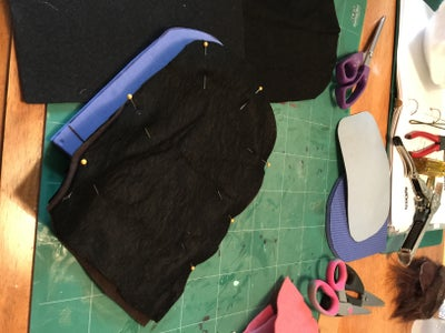 Making the Jaw Pockets.