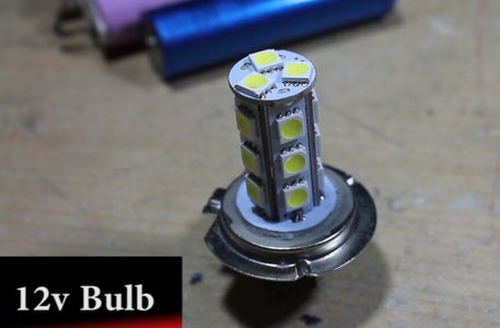 Old Flashlight to LED Conversion.
