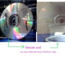 how remove layer aluminum on CD