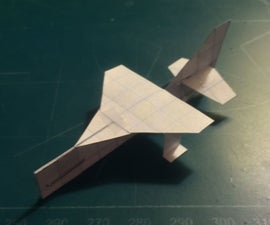 How To Make The Simple SkyMosquito Paper Airplane