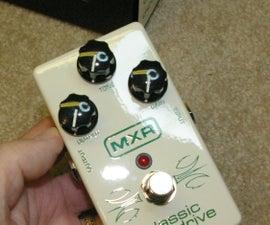 MXR Classic Overdrive - Flip a Switch to Make It a Zakk Wylde ZW44!