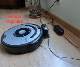 Robot Aspiradora Roomba, No Carga