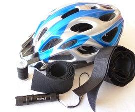 Helmet mounted LED light? - having it my way!
