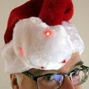 Arduino-based Blinking Santa Hat