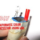 Automatic color detector using LDR