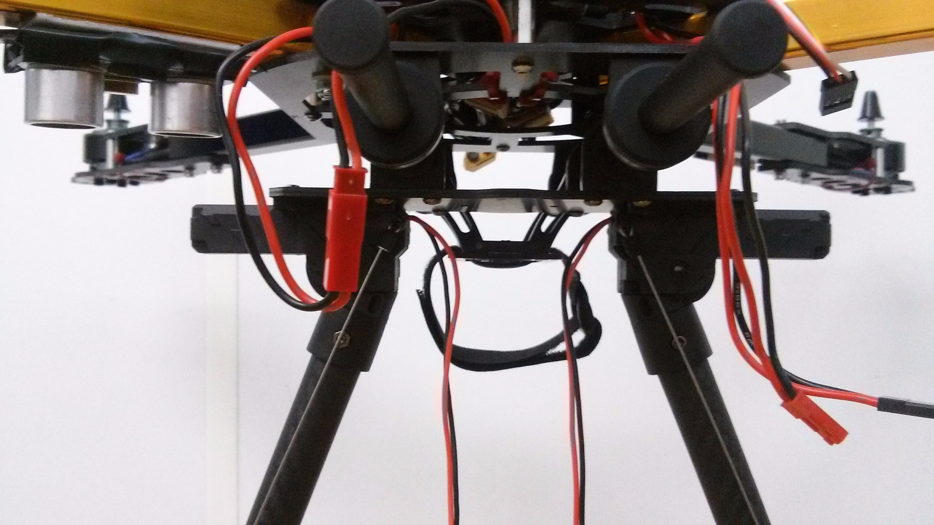 Picture of Mounting the Landing Gear Onto the Drone Frame
