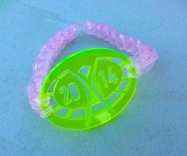 Loom Bracelet for Burning Man Gifting