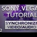 SONY VEGAS TUTORIAL - SYNCHRONIZE VIDEO/AUDIO