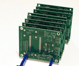 Simple Circuit Board Rack