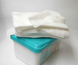 How To Make Your Own Decomposable Baby Wipes