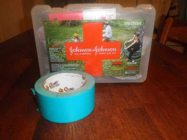 Duct Tape in Your First Aid Kit