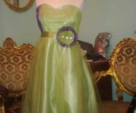 how to sew prom dress
