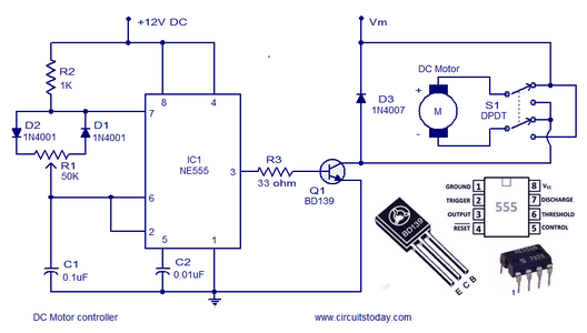 Controlling of Brushed DC Motor