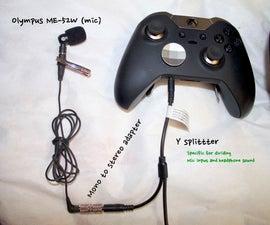 Xbox One Headphone Setup with Working Chat Audio