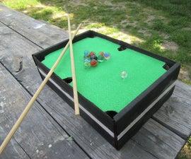 Mini Pool Table Top Game