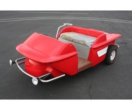 Turf Rider Mark IV Golf Cart Restoration