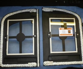 Wood Burning Stove Rope & Glass Replacement