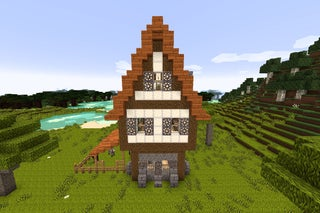 How To Build A Medieval House In Minecraft 17 Steps With