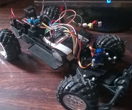 Arduino RC Car with long range and custom transmitter.