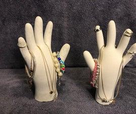 Jewellery Concrete Hand