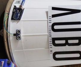 AUBO - an Open Source Autonomous Bot With Arduino