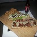 deano's ultimate night in steak sandwich