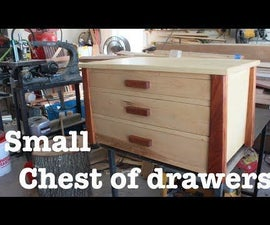 How-To: Build a small chest of drawers