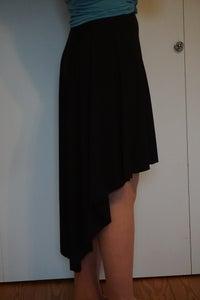 Simple High-Low Skirt