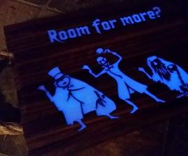 Glow in the dark Ghostly Cutting Board