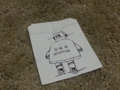 The Robot Outline