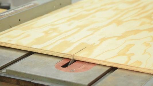 Break Down the Plywood