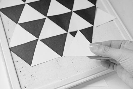 Glue the Triangles on the Board