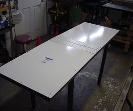 Folding Table / Sign