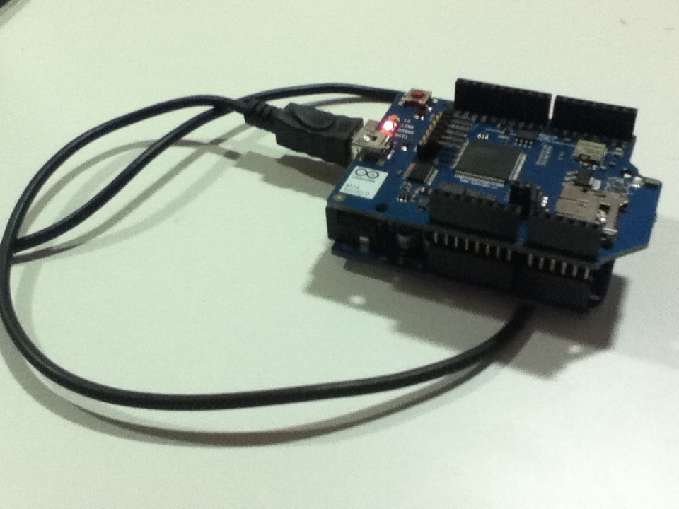 Picture of How to Tweet From an Arduino Using the Wifi Sheild
