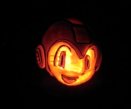 Mega Man Pumpkin