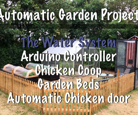Automatic Rain-Watering System for Greenhouse and Chicken Coop