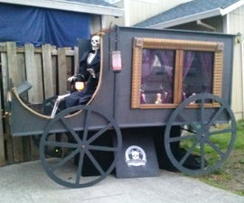 Horse Drawn Hearse Collapsible