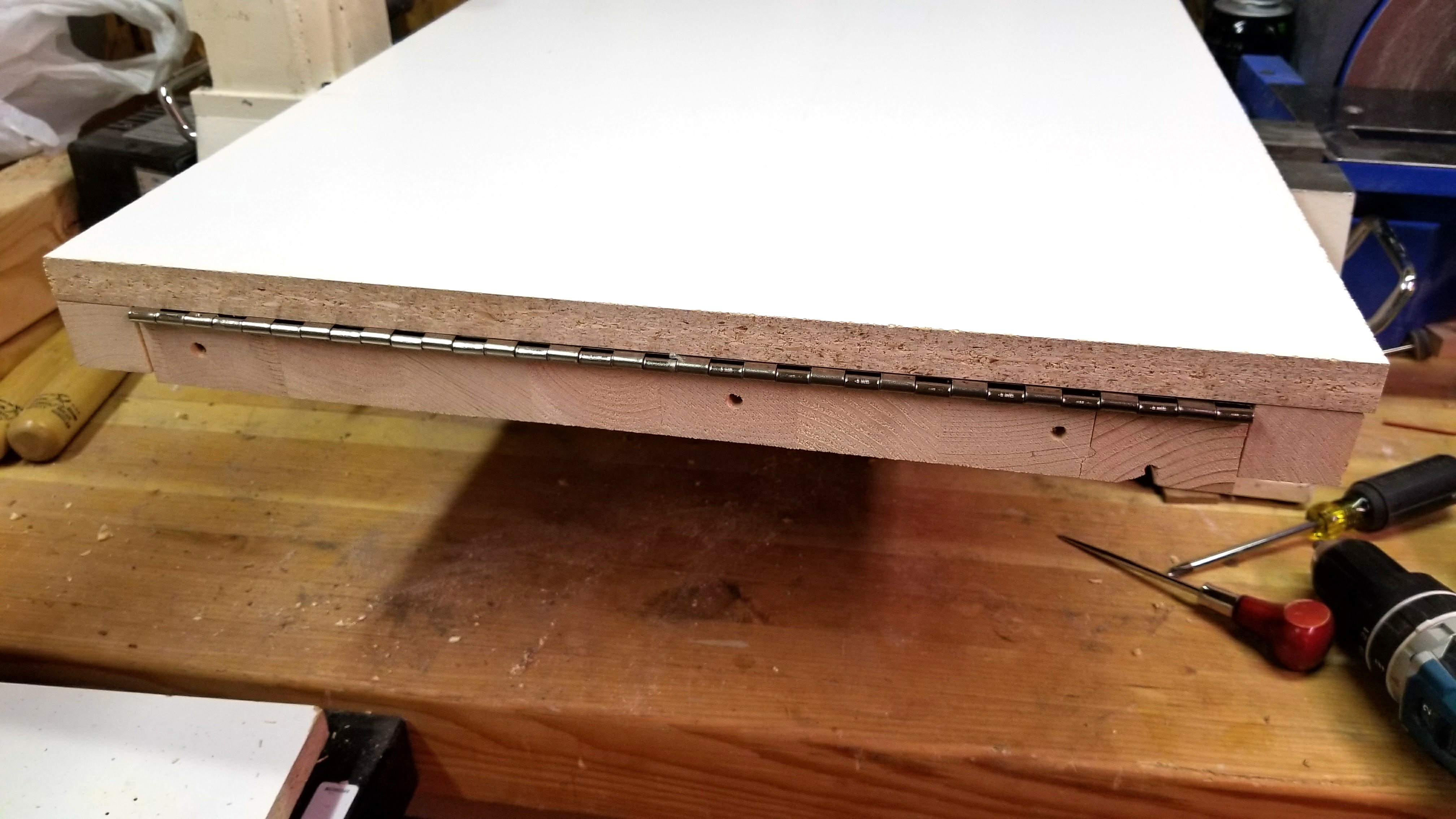 Picture of Attach Table to Base