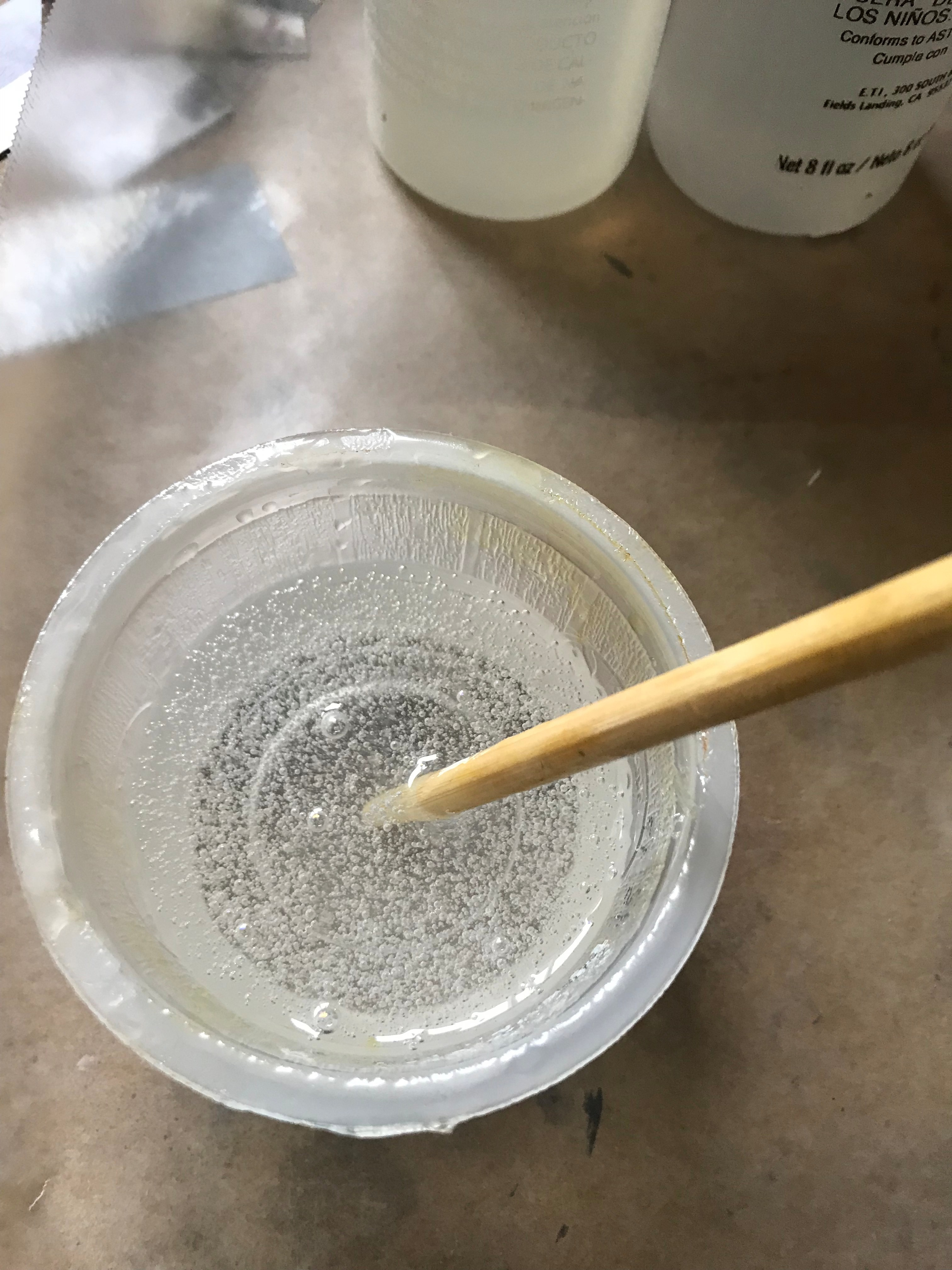 Picture of Casting the Resin