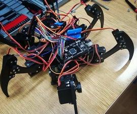DIY Arduino hexapod