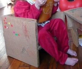 Cardboard Chair for Children
