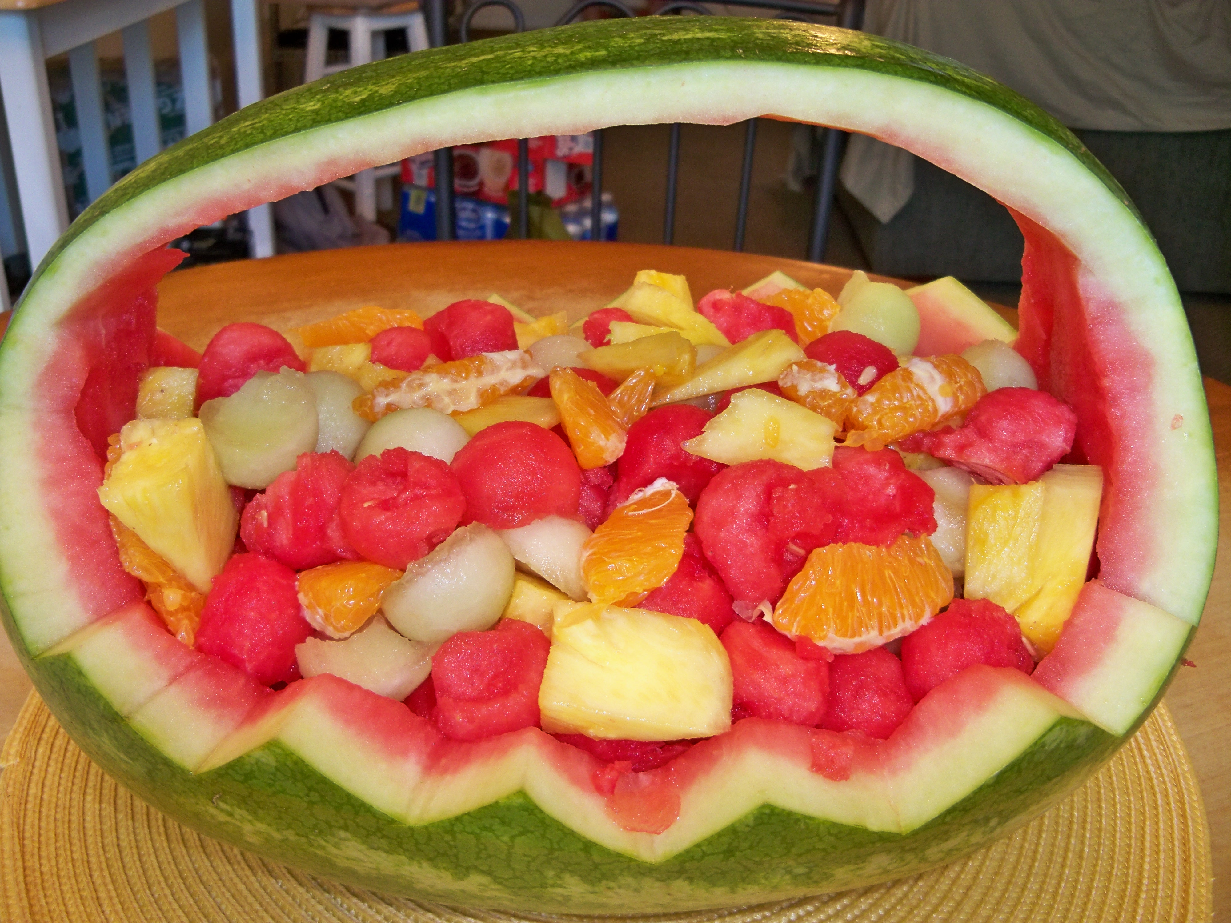 Picture of Watermelon Fruit Basket
