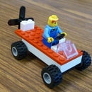 How to make a Sweet Lego Propeller Car!