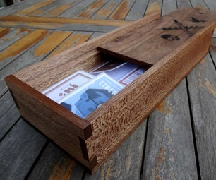 Secret Hitler Dovetail Box (only Hand Tools)