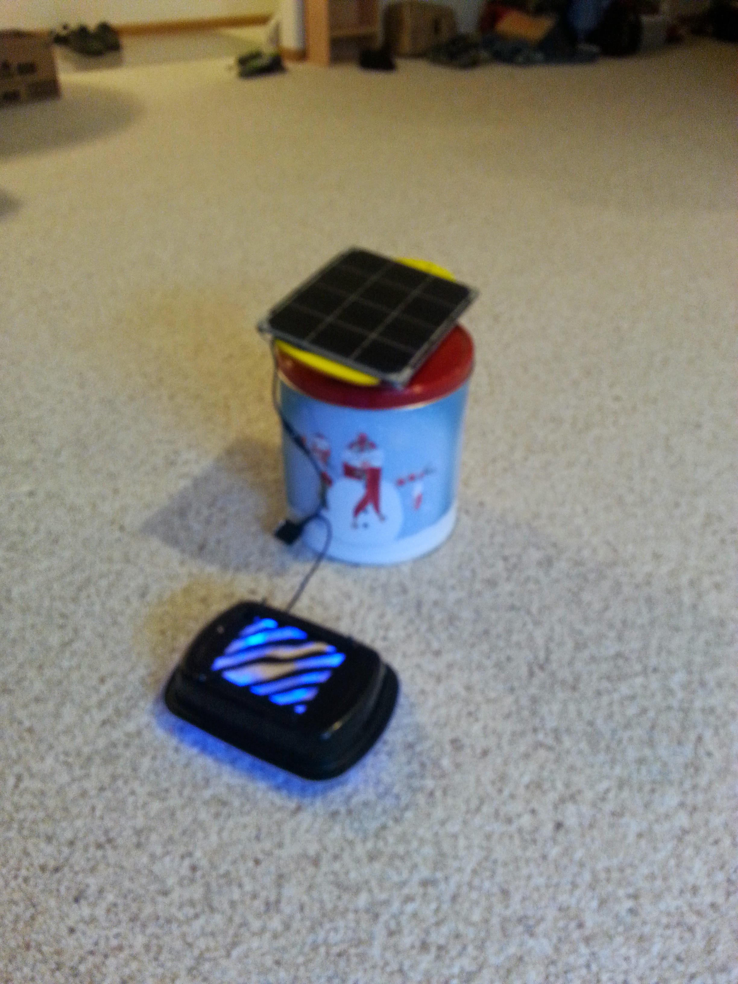 Picture of Portable Solar Powered Air Filter