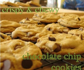 Crispy & Chewy Chocolate Chip Cookies