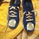 DIY TARDIS Shoes! (Keds comfy!)