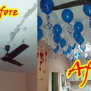 Decorate Your Home With Balloons Floating in Air